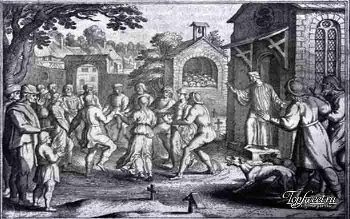 Танцевальная эпидемия. Самые странные болезни в мире