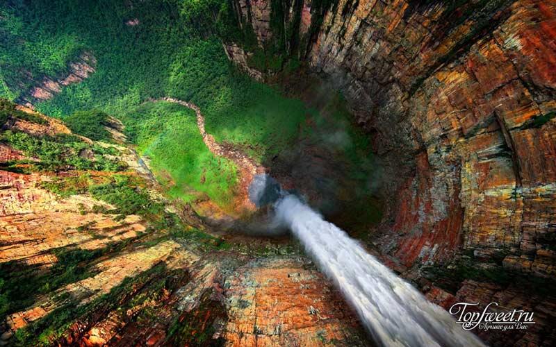 Водопад Анхель. Самые экстремальные места