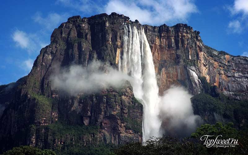Водопад Анхель. Экстремальные места планеты