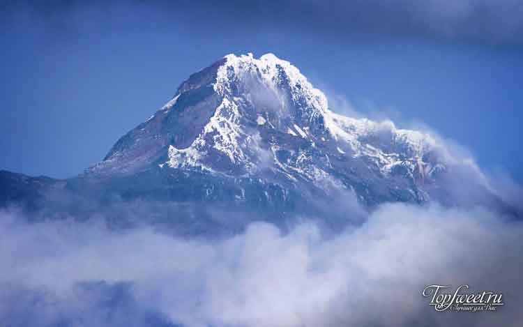 на Фото: вулкан Чимборасо