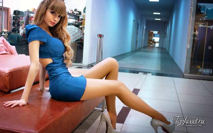 Анжелика Кенова. Красивые девушки-куклы