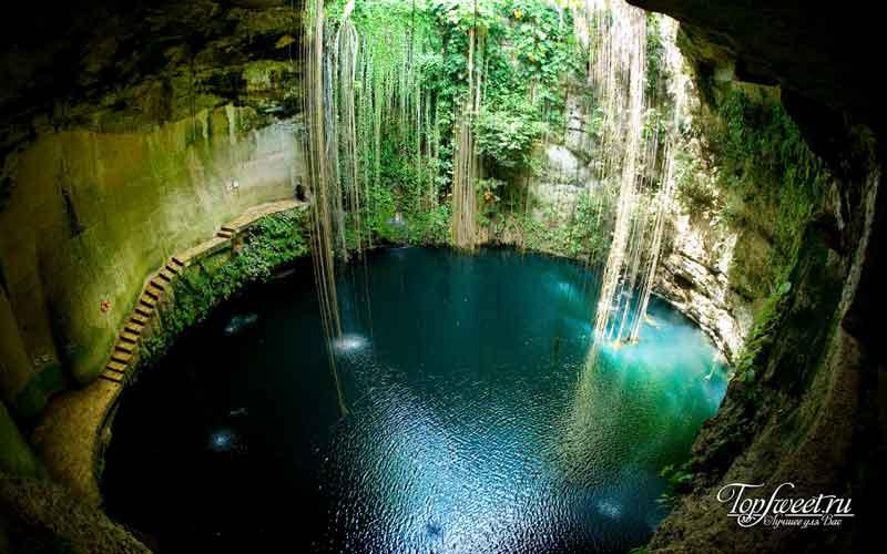 Ченоте, Чичен-Ица. Удивительные сакральные места