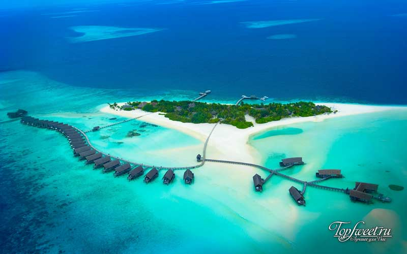 Cocoa Island. Уникальные отели на воде