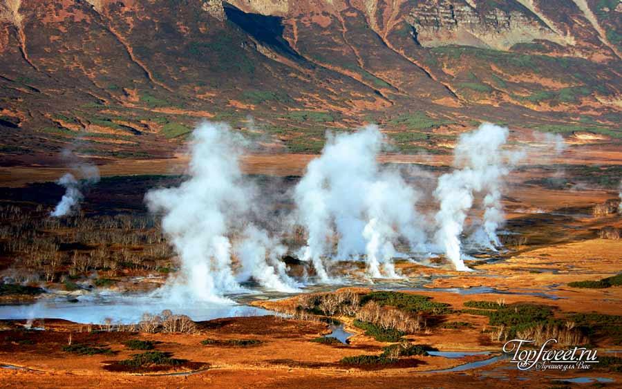 Долина гейзеров. Самые красивые заповедники России