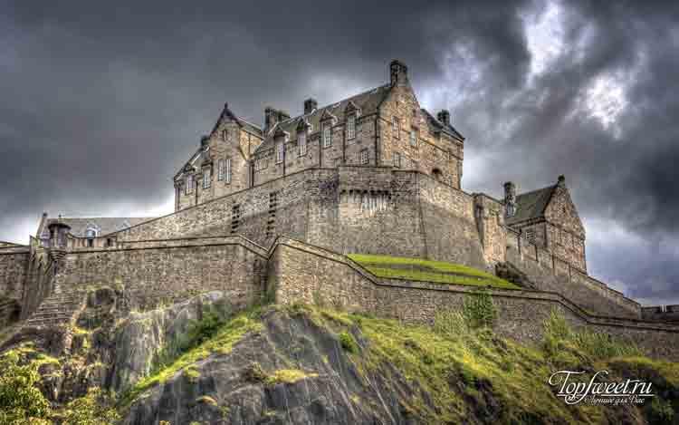 Эдинбургский замок. Места с призраками