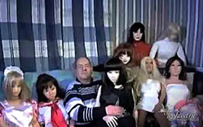 Коллекция кукол для секса