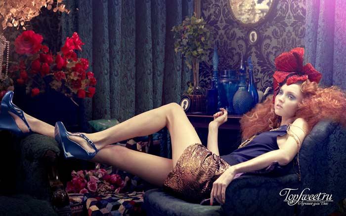 Лили Коул. Красивые девушки-куклы