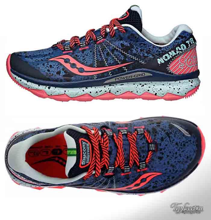 Saucony Nomad TR. Лучшие женские кроссовки для бега