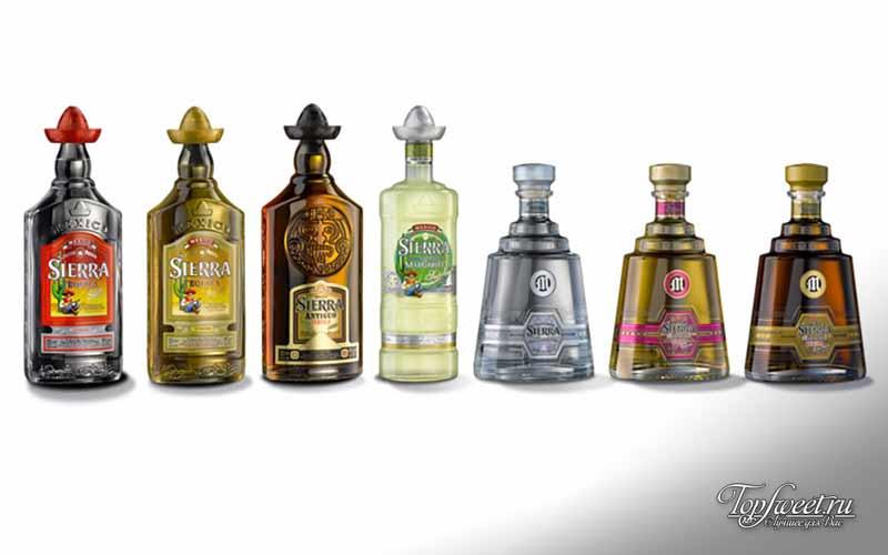 Sierra Tequila Silver 150 Proof. Самые крепкие алкогольные напитки в мире