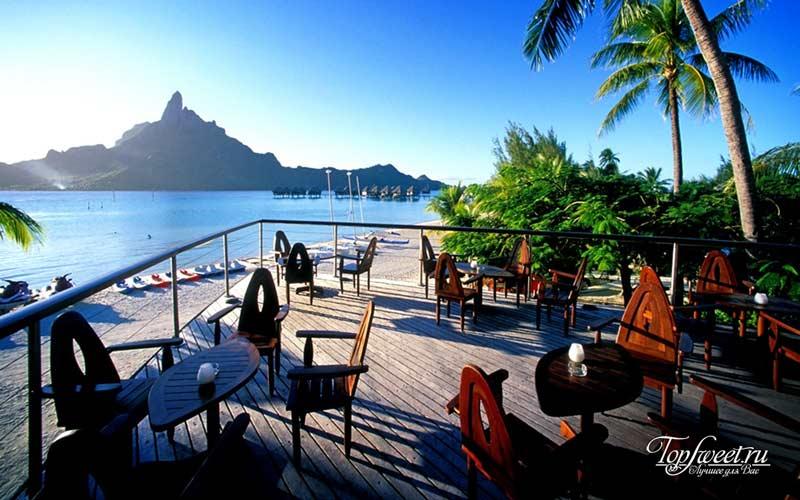The Meridien Bora Bora. Уникальные отели на воде