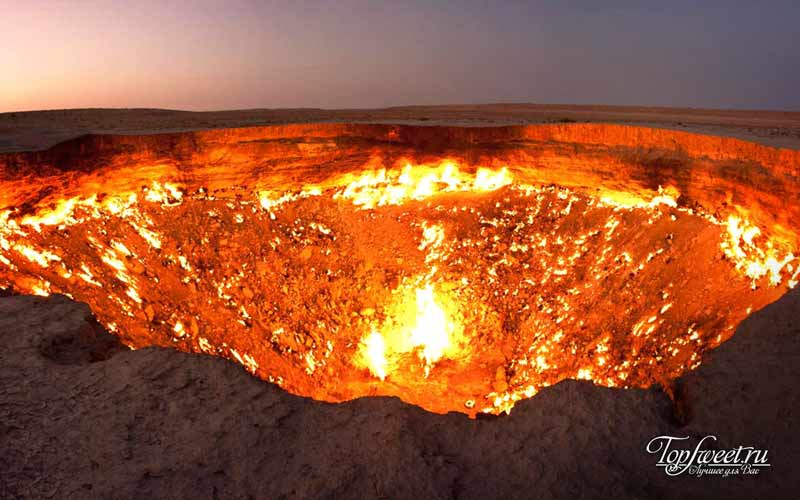 Врата Ада. Геологические достопримечательности Земли