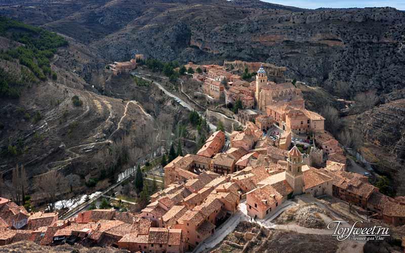 Альбаррасин. Необычайно красивые деревни Европы