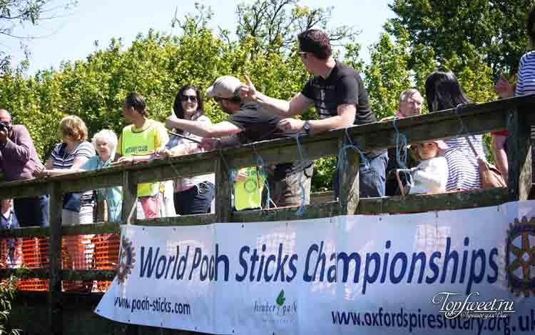 Гонки Винни Пуха. Самые необычные виды спорта