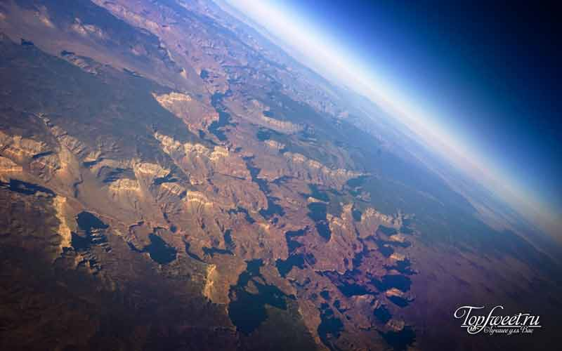 Гранд-Каньон из космоса