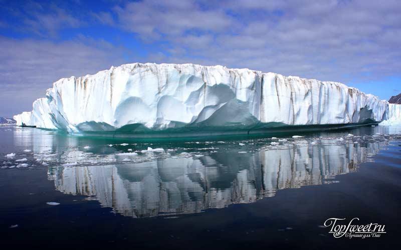 Ледяные шапки Гренландии. Самые загадочные и неизведанные места на Земле