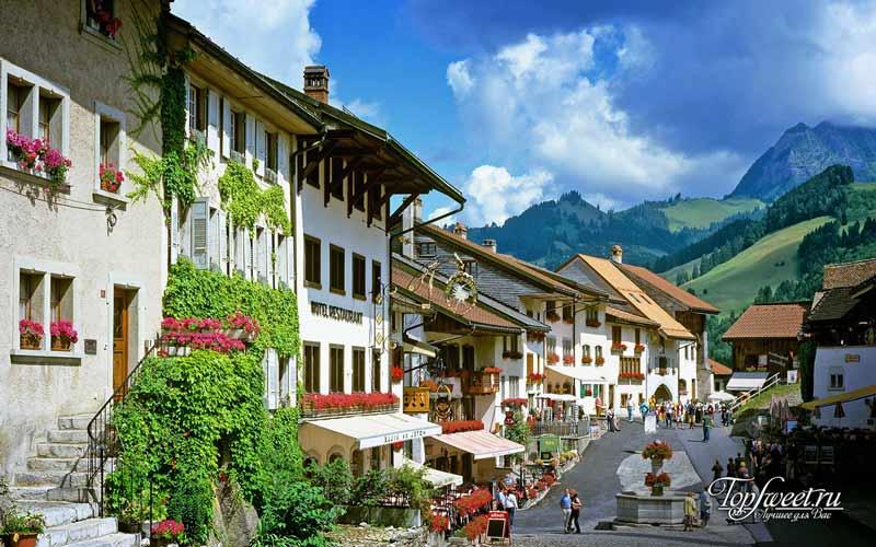 Грюйер. Самые красивые деревни Европы