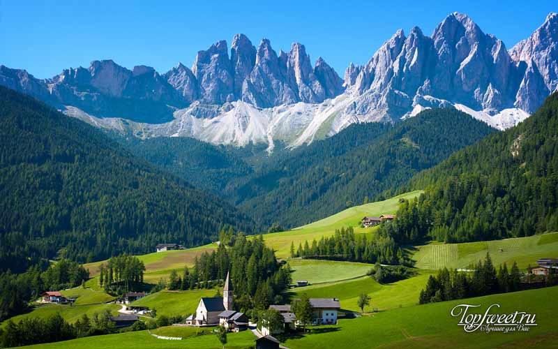 Грюйер. Необычайно красивые деревни Европы