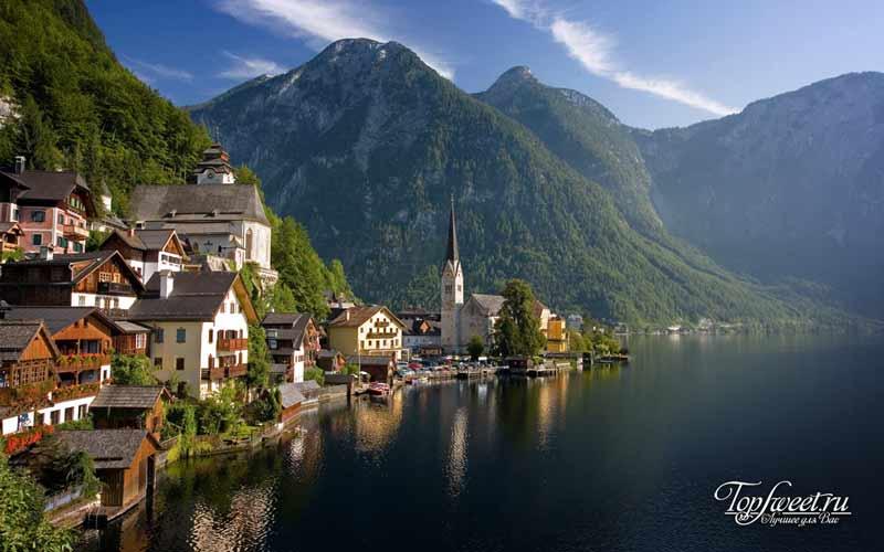 Хальштатт. Необычайно красивые деревни Европы