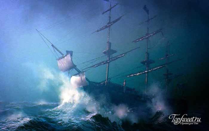 Леди Лавибонд. Корабли-призраки. ТОП-10 загадочных кораблей