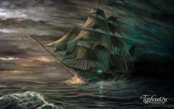 Летучий голландец. Корабли-призраки. ТОП-10 загадочных кораблей