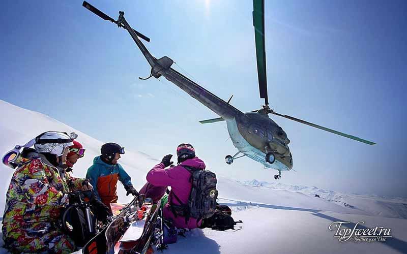 Лыжи на Камчатке