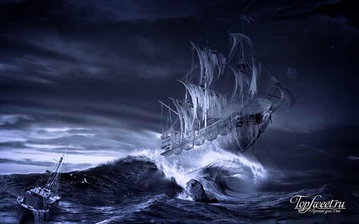 Октавиус. Корабли-призраки. ТОП-10 загадочных кораблей