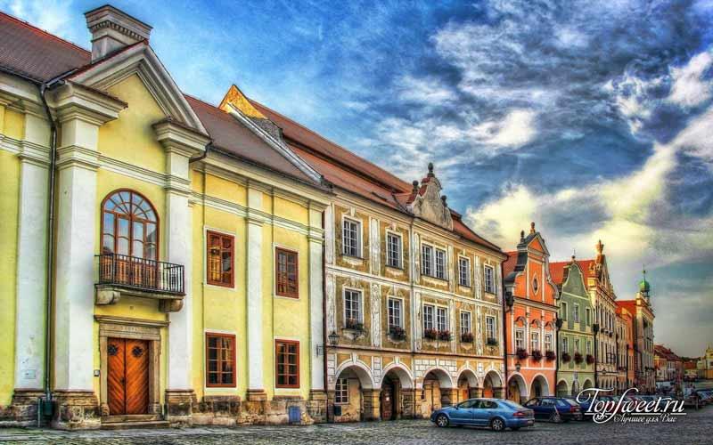Тельч. Необычайно красивые деревни Европы
