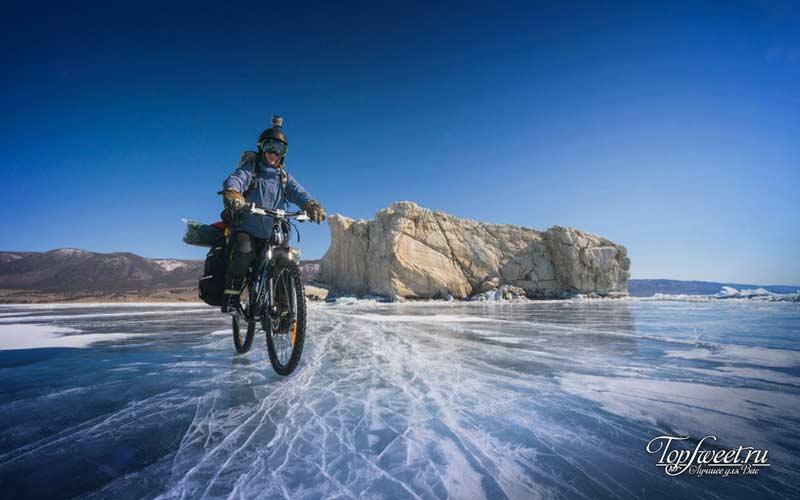 Вело Байкал. Экстремальный туризм в России