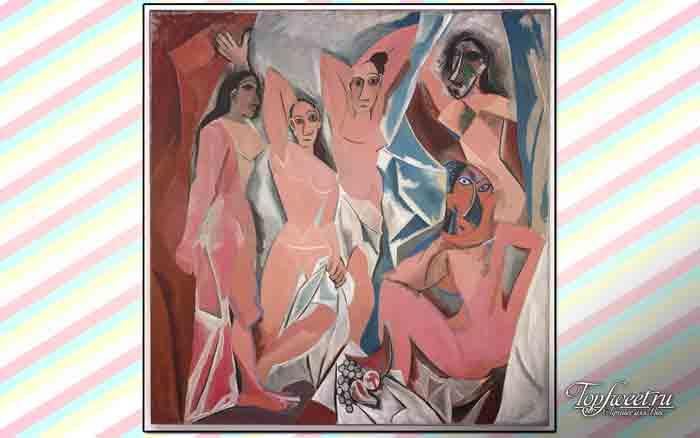 Авиньонские девицы. ТОП-10 самых известных картин Пикассо