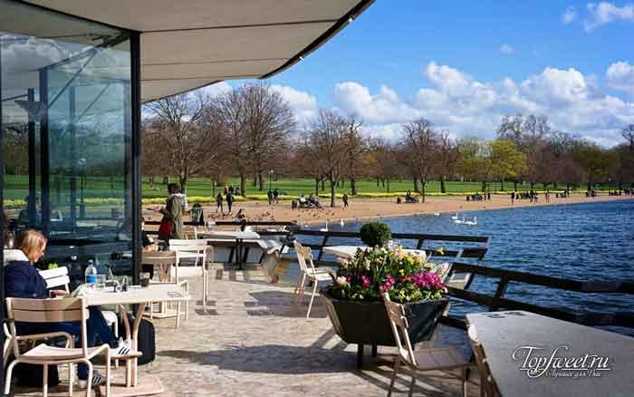 Benugo - Гайд-парк. Кафе Лондона, которые необходимо посетить каждому