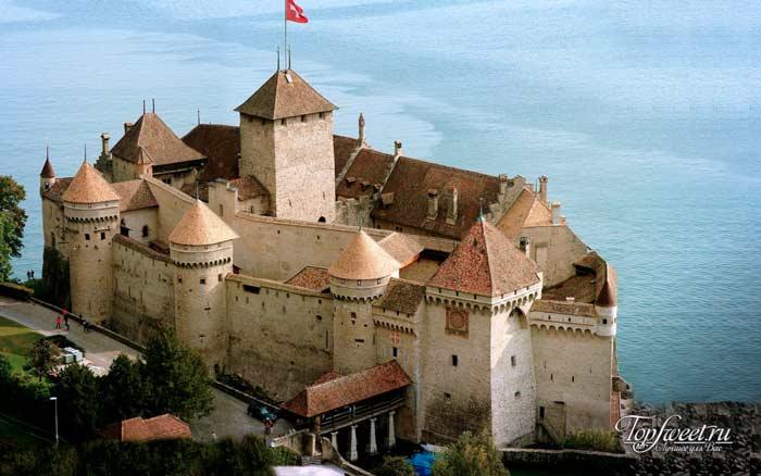 Chateau de Chillon. Самые красивые замки мира. ТОП-10