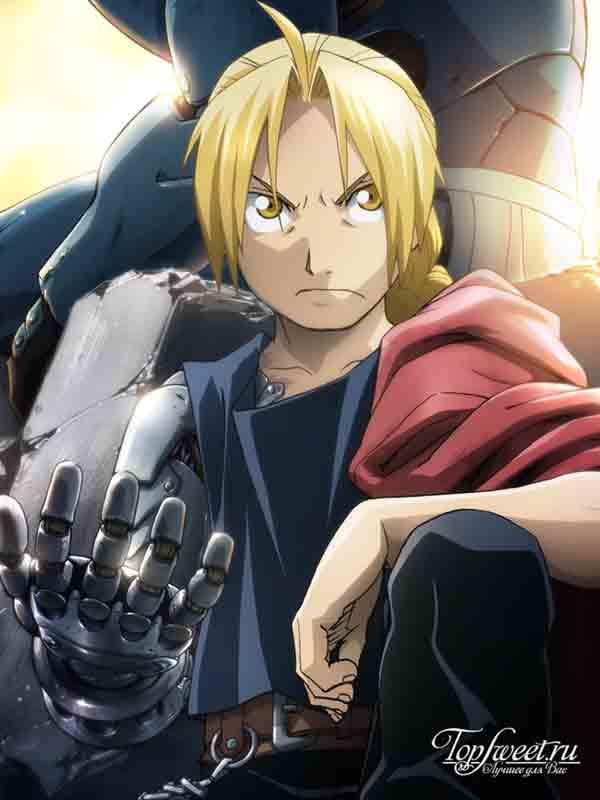 Edward Elric. Самые известные аниме-персонажи ТОП-10