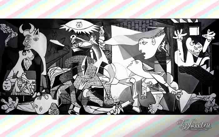 Герника. ТОП-10 Самые известные картины Пабло Пикассо