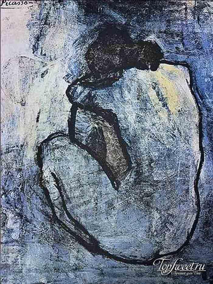 Голубая обнаженная. ТОП-10 самых известных картин Пабло Пикассо