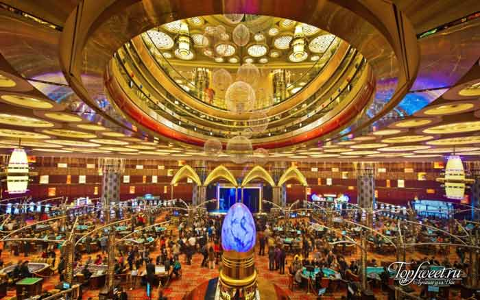Grand Lisboa – Macau. Лучшие казино мира