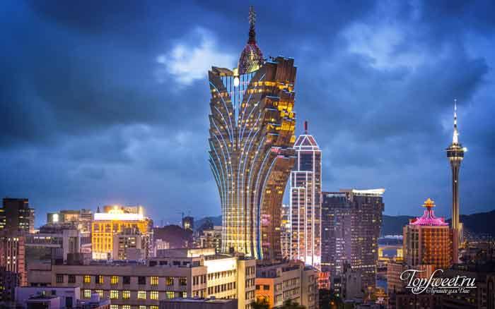 Grand Lisboa – Macau. Лучшие казино в мире