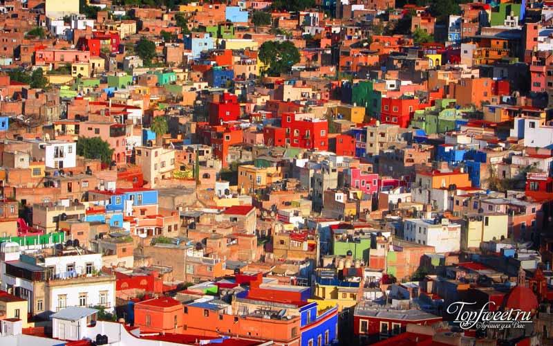 Гуанахуато. Самые яркие города мира