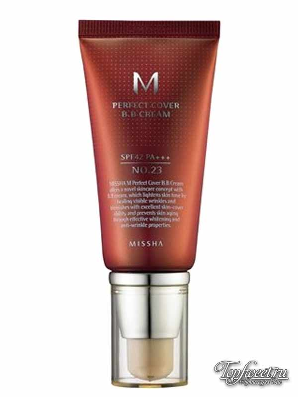 Missha M Perfect Cover BB Cream, No.23 Natural Beige