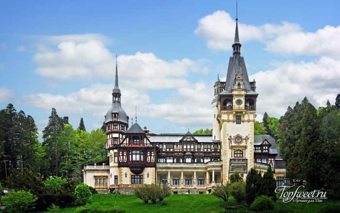 Пелеш, Румыния