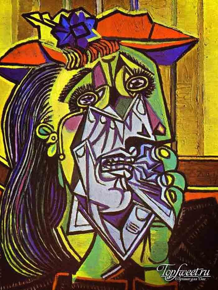 Плачущая женщина. ТОП-10 Самые известные картины Пикассо