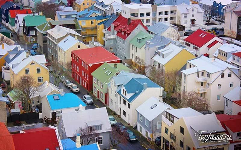 Рейкьявик. Самые яркие города мира