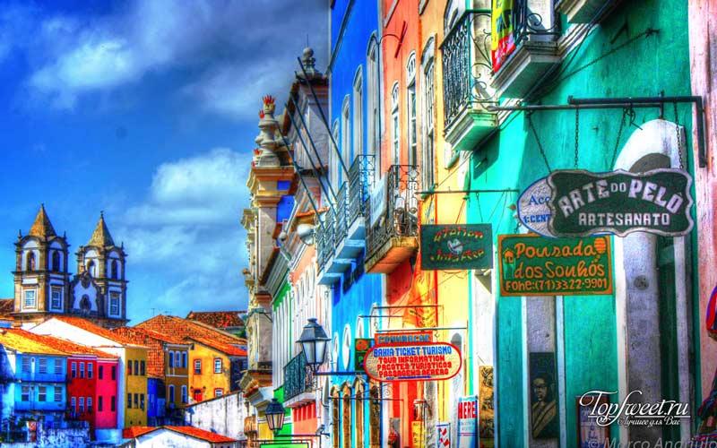 Салвадор, Баия. Самые яркие города мира