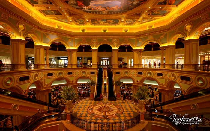 The Venetian Macao. Лучшие казино мира