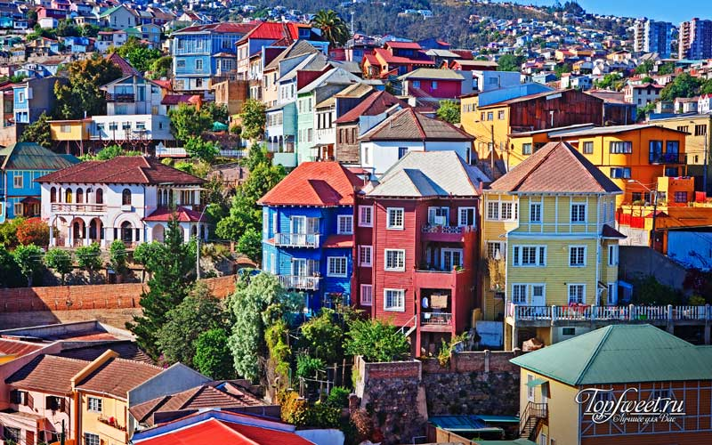 Вальпараисо. Самые яркие города мира