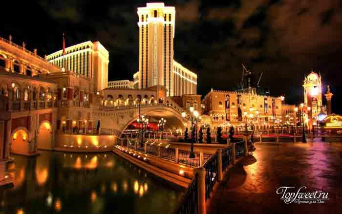Venetian Resort Hotel Casino. Лучшие казино в мире