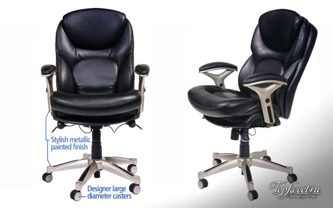 Wellness Mid-Back Office Chair