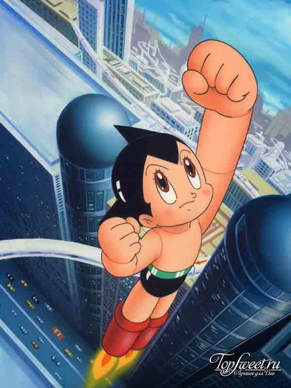 Astro boy. Самые известные аниме-персонажи ТОП-10