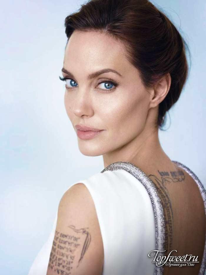 Анджелина Джоли. Самые красивые глаза в мире