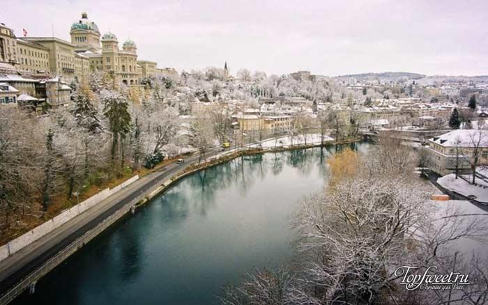 Берн. Самые красивые зимние города мира