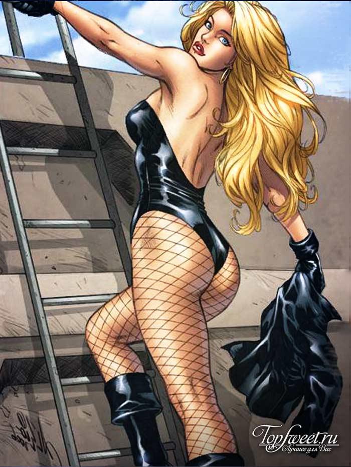 Черная Канарейка. Самые сексуальные героини комиксов и мультфильмов. ТОП-10